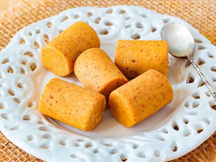 Paçoca com biscoito