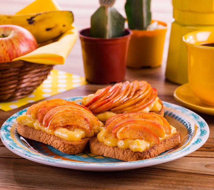 Quer incrementar seu café da manhã? Veja receitas com torradas